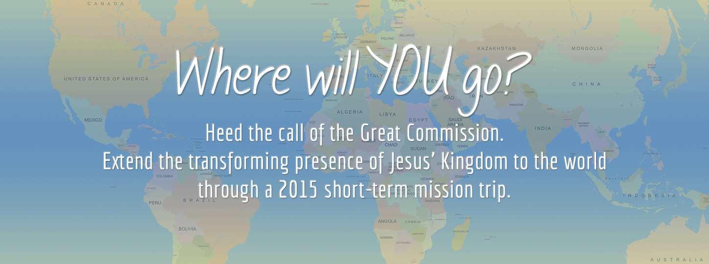 Short term missions 2015