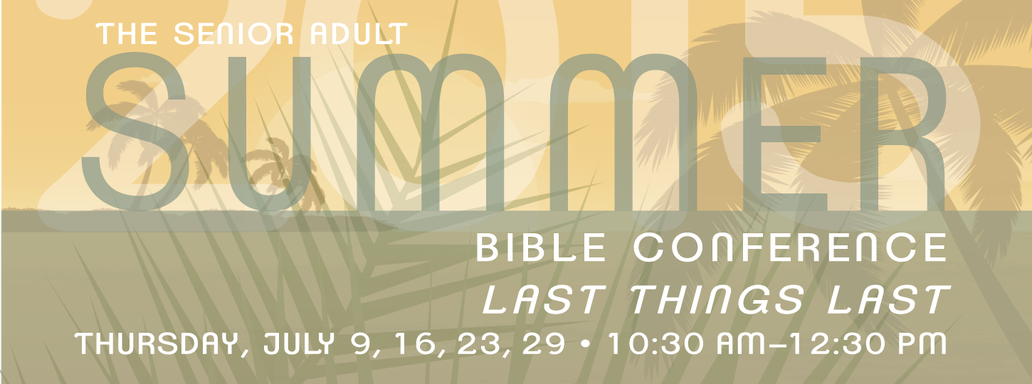 Summer Bible Conference 2015