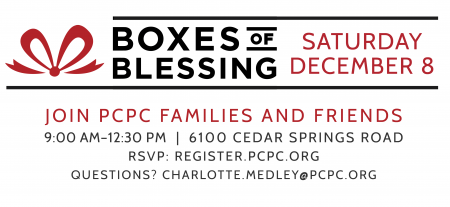 Boxes of Blessing