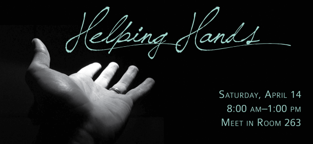 Helping Hands April 14