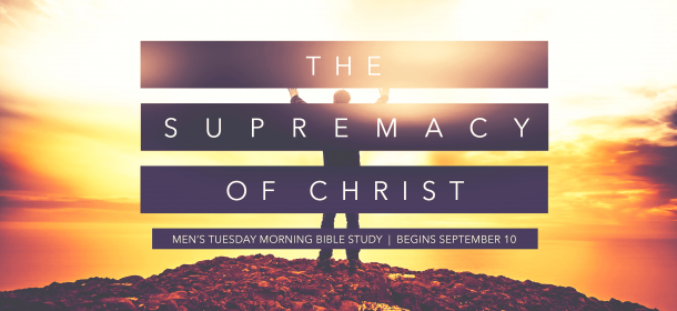 Men's Tuesday Morning Bible Study Fall 2019