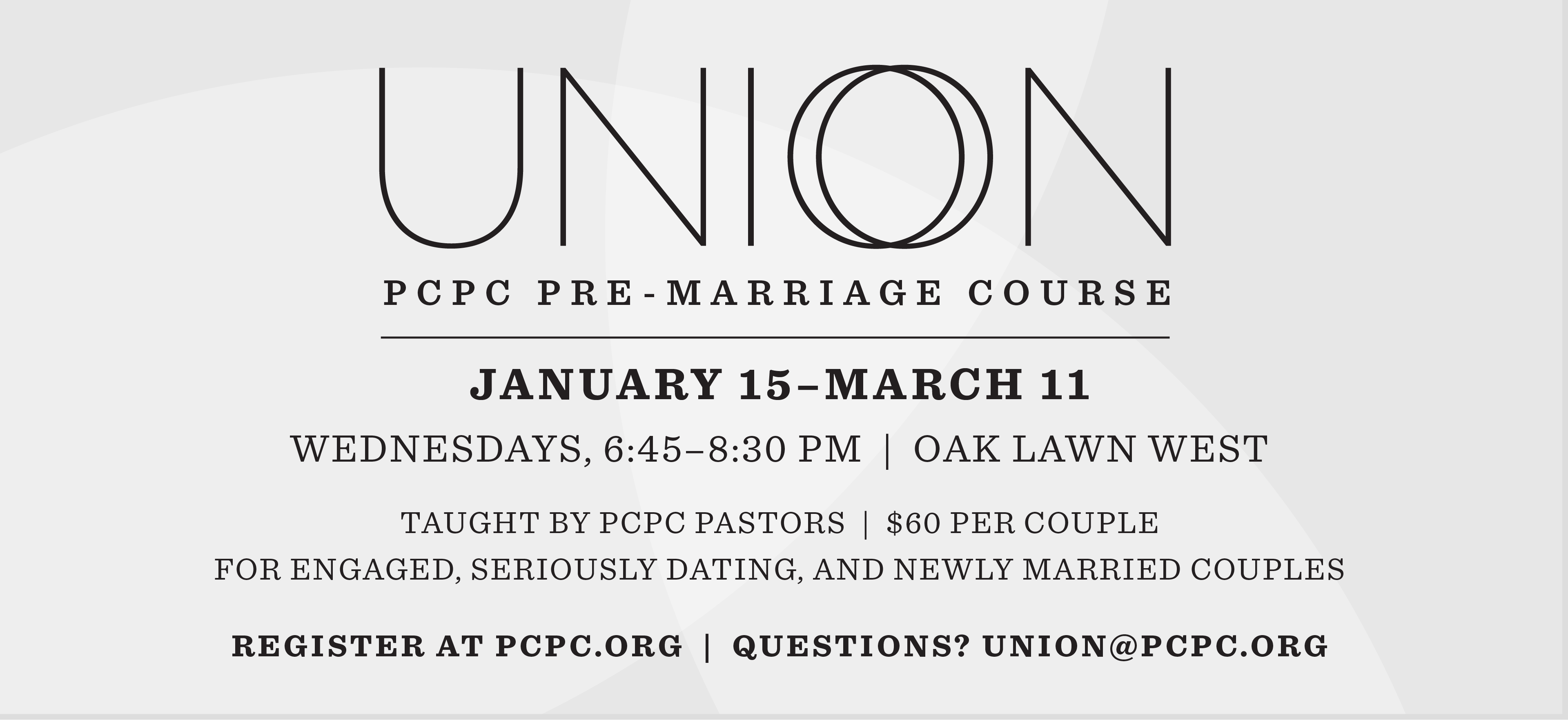 Union: Marriage Preparation Class