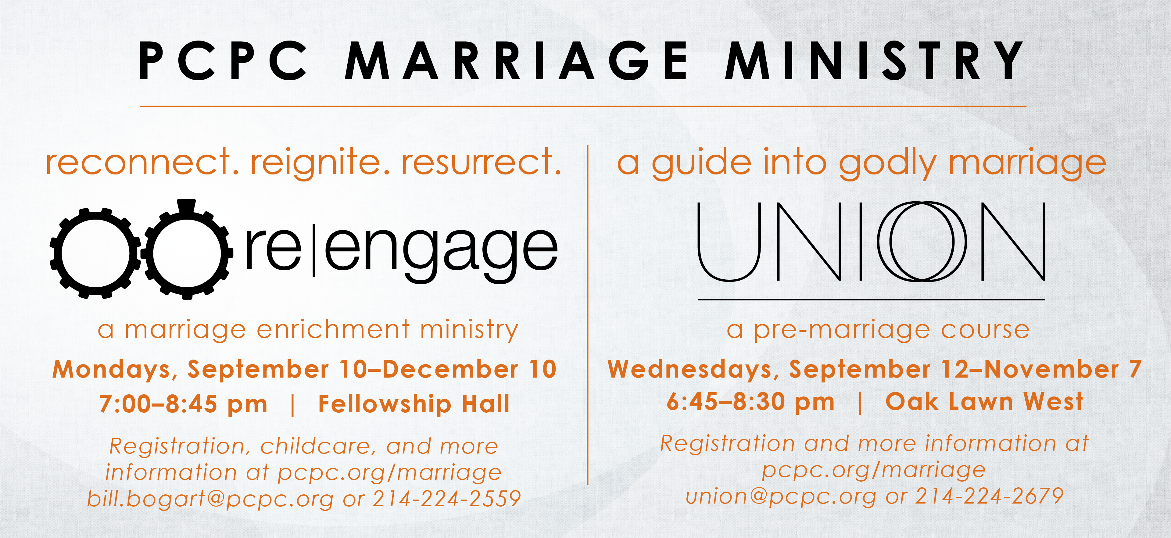 Marriage Ministry